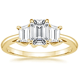 Brilliant Earth 18K Yellow Gold Embrace Diamond Ring