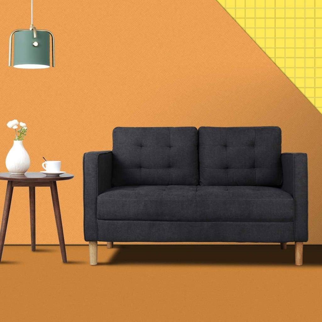 Modern Classic Loveseat Sofa
