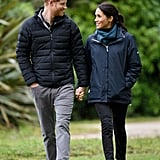 Prince Harry and Meghan Markle Holding Hands Pictures