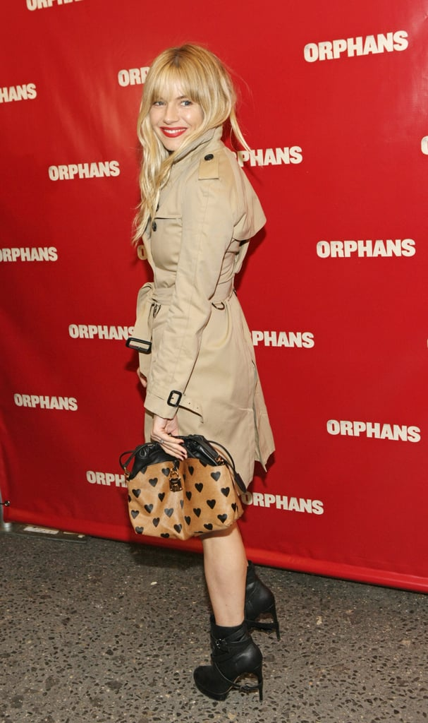 Sienna Miller Shows Support For Tom at Orphans Premiere in NYC