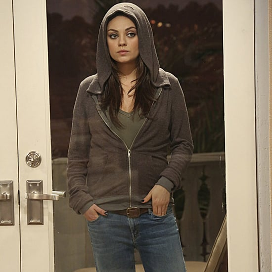 Mila Kunis on Two and a Half Men Pictures