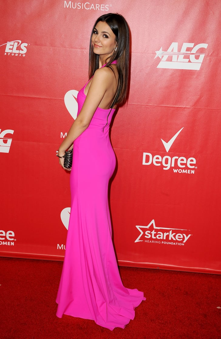 Victoria Justice At The Musicares Person Of The Year Award