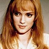 Winona Ryder With Strawberry Blond Hair