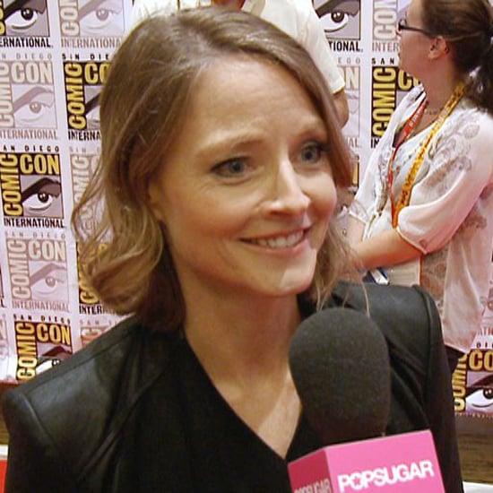 Jodie Foster Elysium Interview at Comic-Con (Video)
