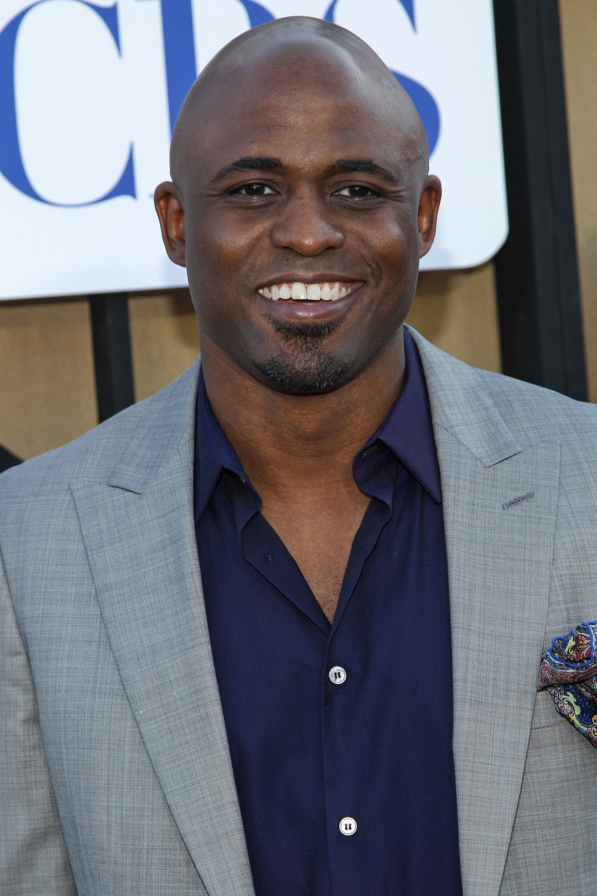 Wayne Brady was a guest at the party hosted by The CW, CBS, and Showtime.