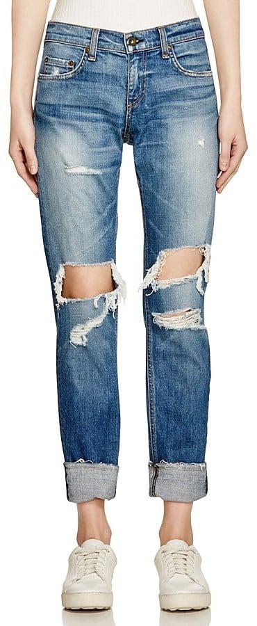 Rag and Bone 'The Dre' Boyfriend Jeans in Kennedy ($250)
