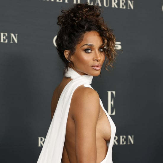 Ciara's Sexy Mônot Dress at Elle's Women in Hollywood Event