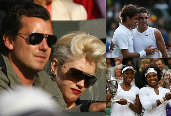 Gwen Stefani and Gavin Rossdale Watch Rafael Nadal Beat Roger Federer in Wimbledon Final