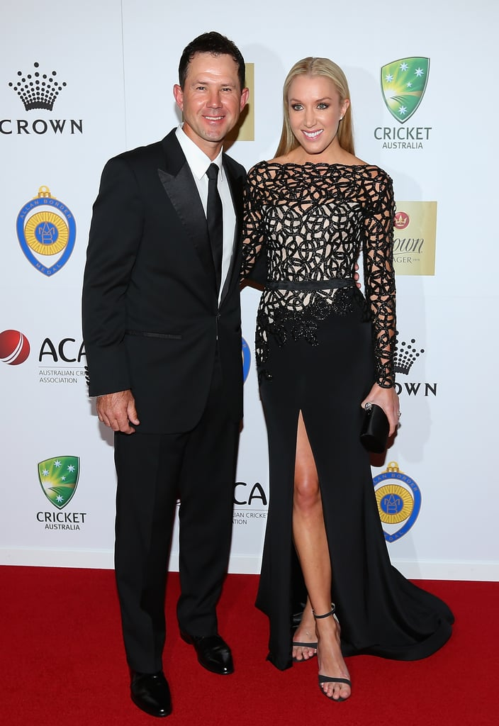Ricky and Rianna Ponting
