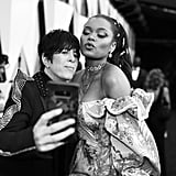 Diane Warren and Andra Day