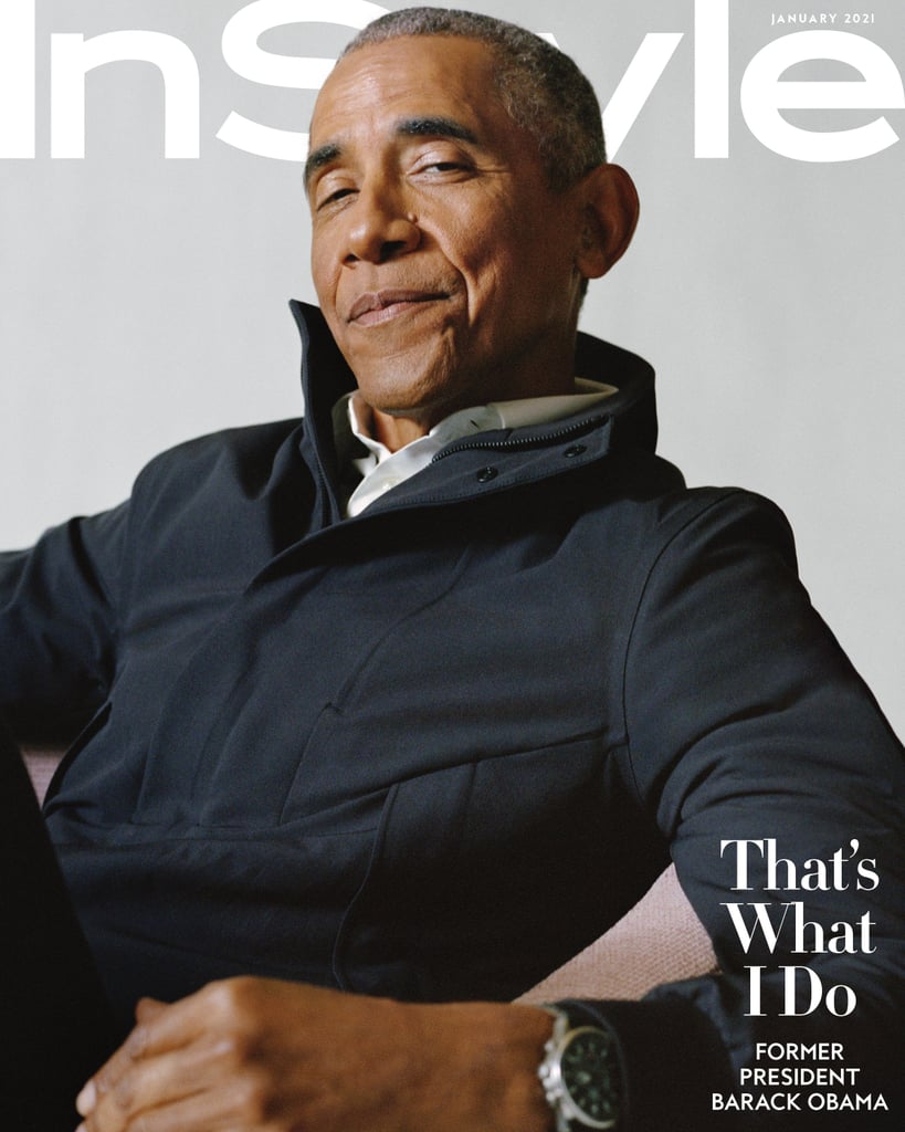 The Story of Barack Obama's Jacket on His InStyle Cover