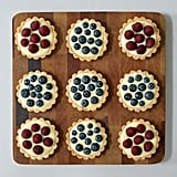 Individual tartlets are great for families with different fruit preferences. Top yours with blueberries or your little one's with raspberries.