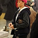 Pictures of Rihanna Shopping at in Beverly Hills