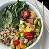 Brown Rice and Tuna Sushi Bowl