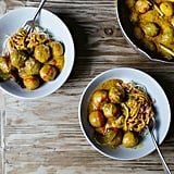 Curry Fish Balls Over Ramen