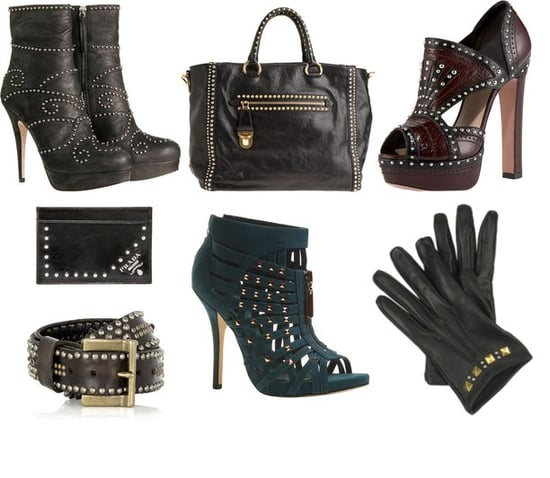 Shopping: Studded Accessories
