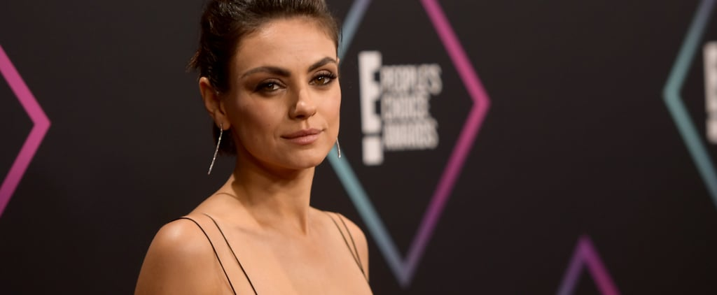 Mila Kunis 2018 People's Choice Awards Acceptance Speech