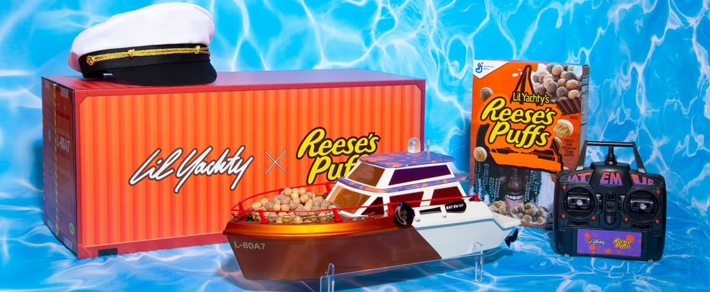 Check Out Lil Yachty's Reese's Puffs Cereal Boats