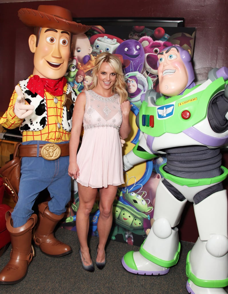 Pictures of Britney Spears, Tom Hanks, Tim Allen, Michael Keaton at Toy Story 3 Premiere