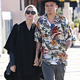 Ashlee Simpson and Evan Ross had breakfast together on Monday in LA.