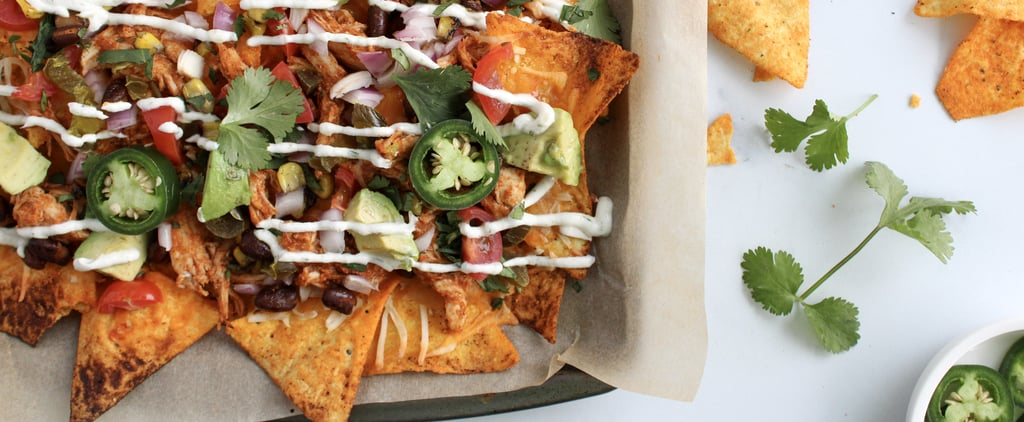 Loaded Cuban-Style Chicken Protein Nachos Recipe and Photos