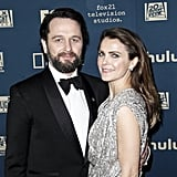 Pictured: Matthew Rhys and Keri Russell
