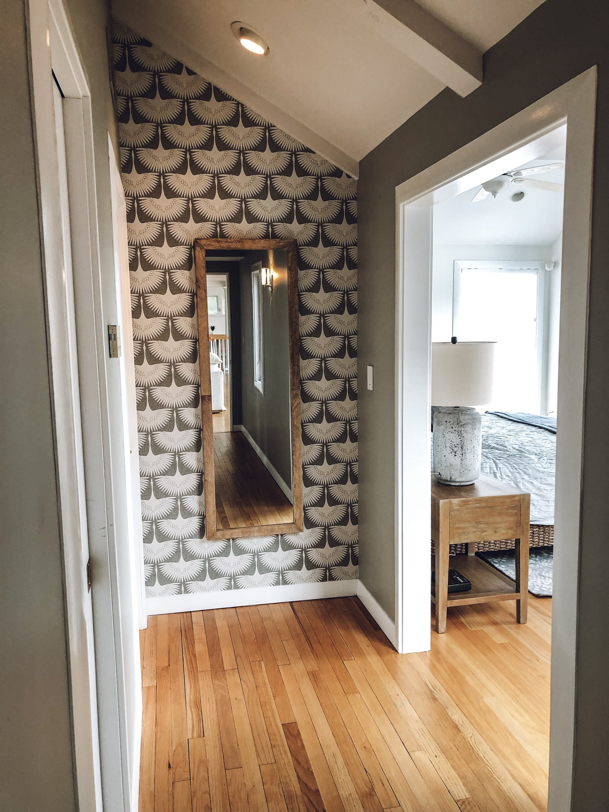 After Hallway Accent Wall