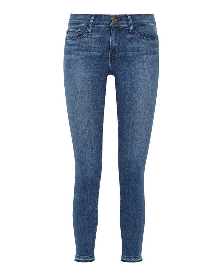 Frame 'Le Skinny De Jeanne' Crop Jeans ($210)