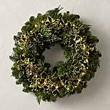Fresh Cut Holly and Juniper Wreath ($69 and up, originally $89 and up)