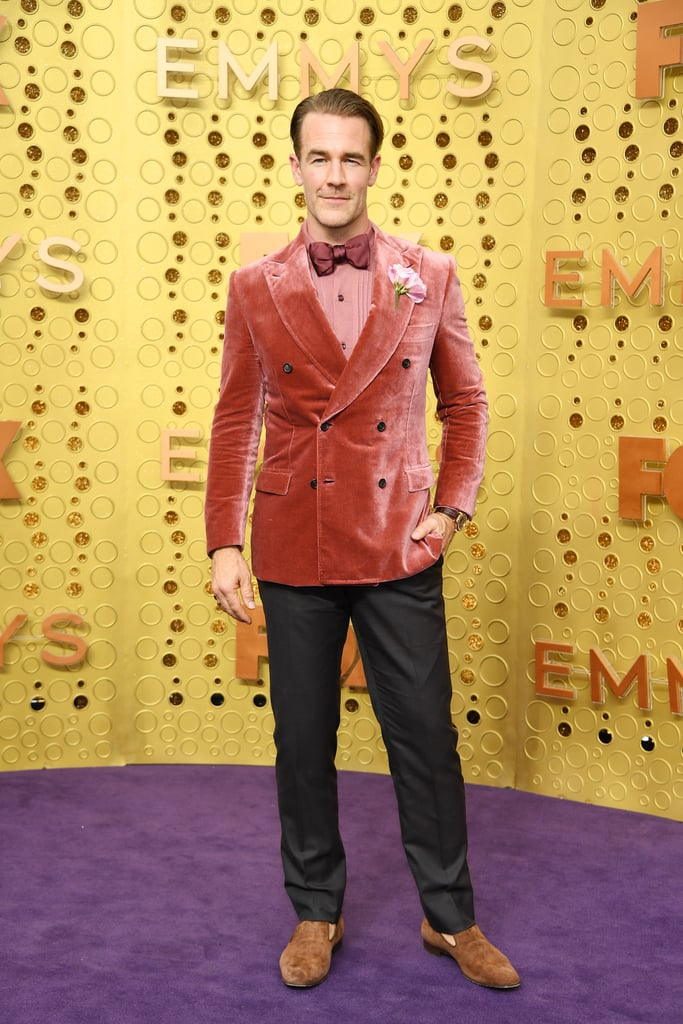 James Van Der Beek at the 2019 Emmys