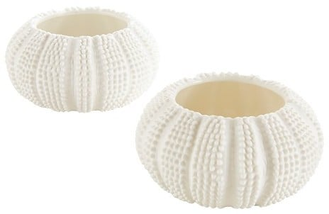 Sea Urchin Tealight Holder ($40 for set of 12)