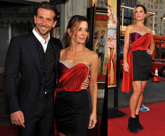 Photos of Sandra Bullock and Bradley Cooper At Premiere of All About Steve