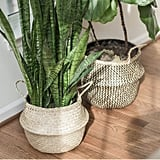 Sona Home Seagrass Basket