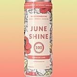 JuneShine 100 Hard Kombucha Hibiscus Lime Flavor
