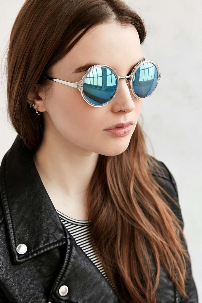 Both Worlds Round Sunglasses ($18)