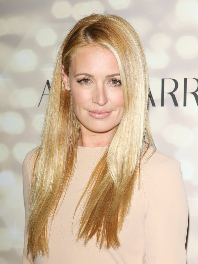 Cat Deeley let her blowout literally shine with glossy strands and subtle makeup at the Audi and Altuzarra Emmy's Kick-Off Party.
