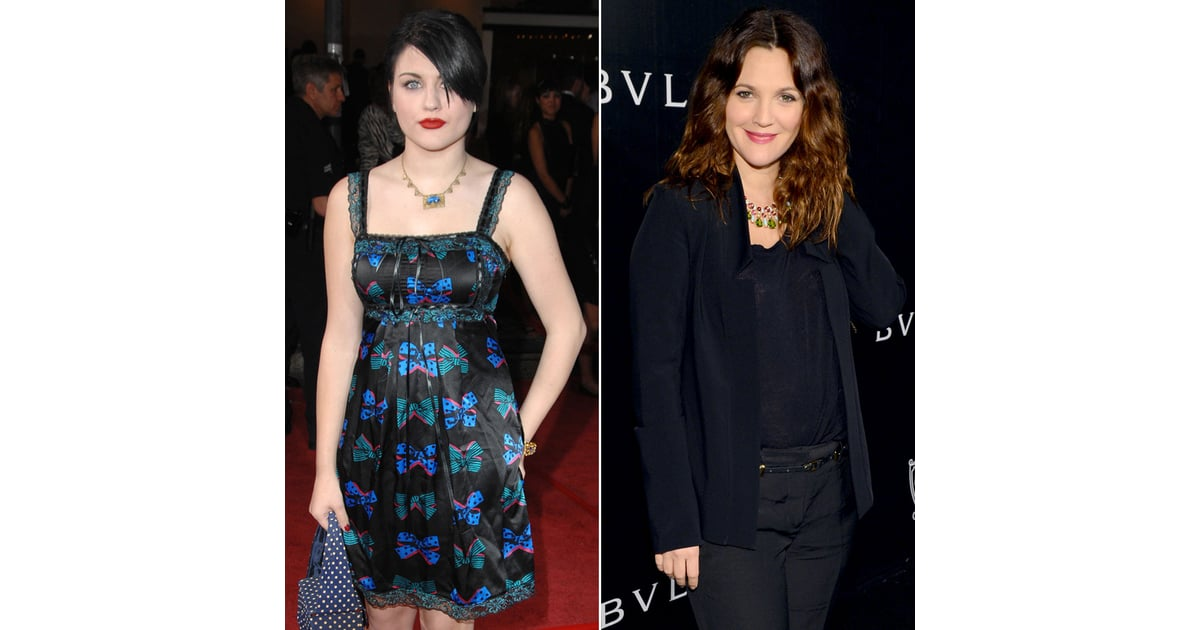 gallery for frances bean cobain and drew barrymore