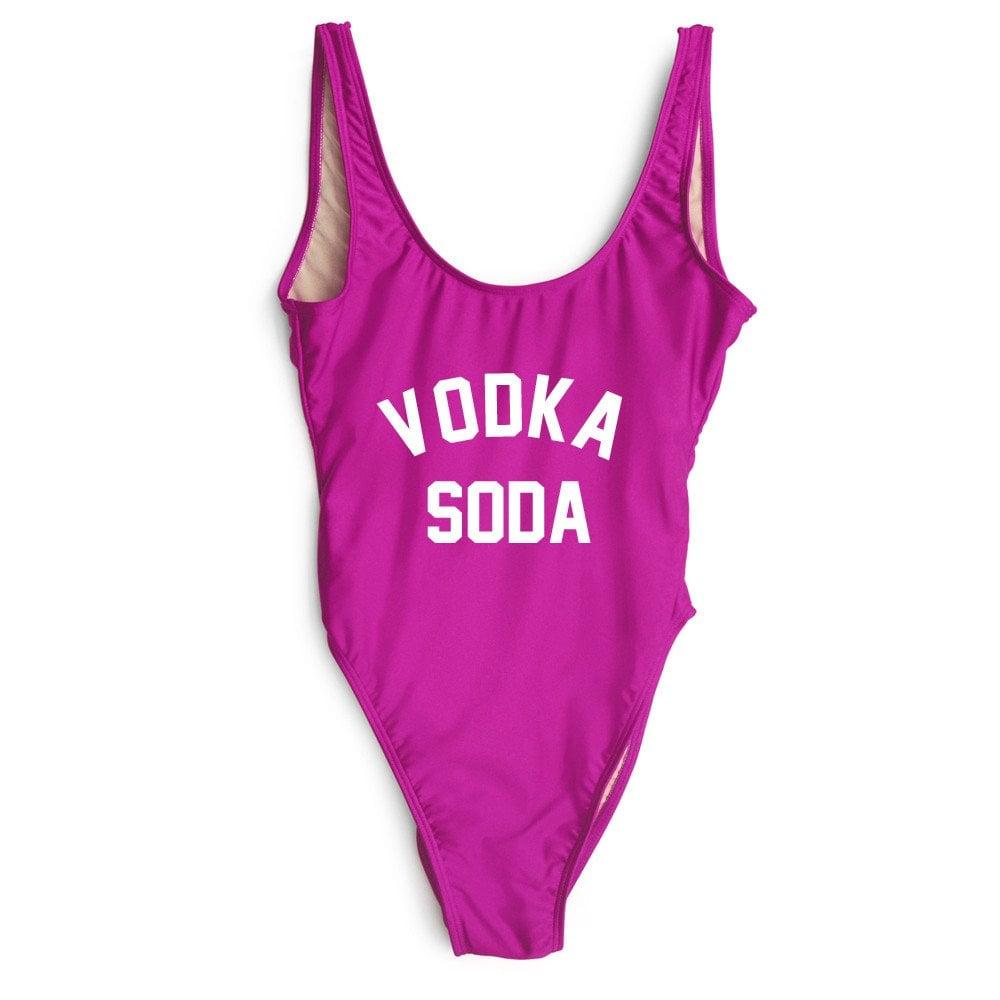 Private Party Vodka Soda Swimsuit ($99)