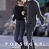 Emma Stone and Andrew Garfield walked around the West Village in NYC.