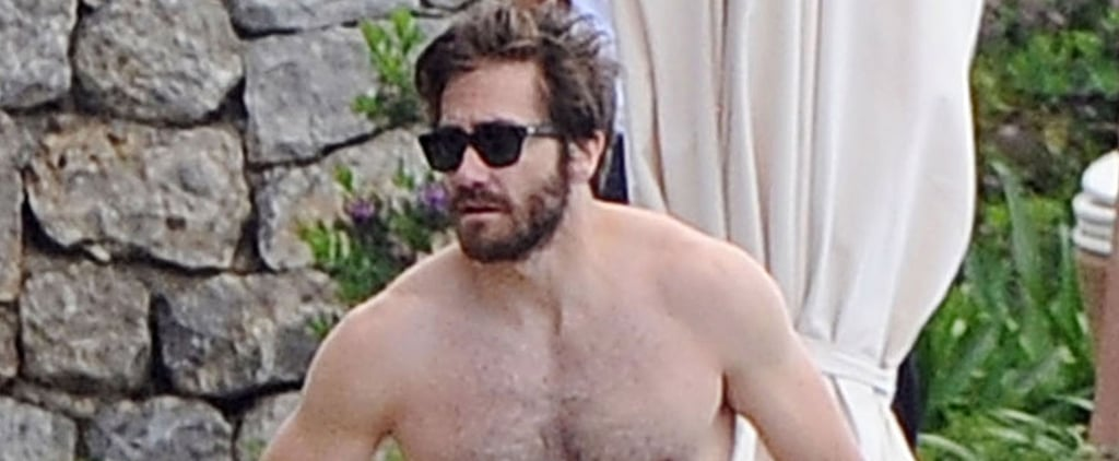 Jake Gyllenhaal Shows Off His Insanely Ripped Body While Vacationing in Italy