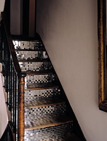 Love It or Hate It? Mirror Tiled Steps