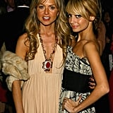 She and her then-stylist Rachel Zoe attended the Marchesa runway show together during New York Fashion Week in February 2006.