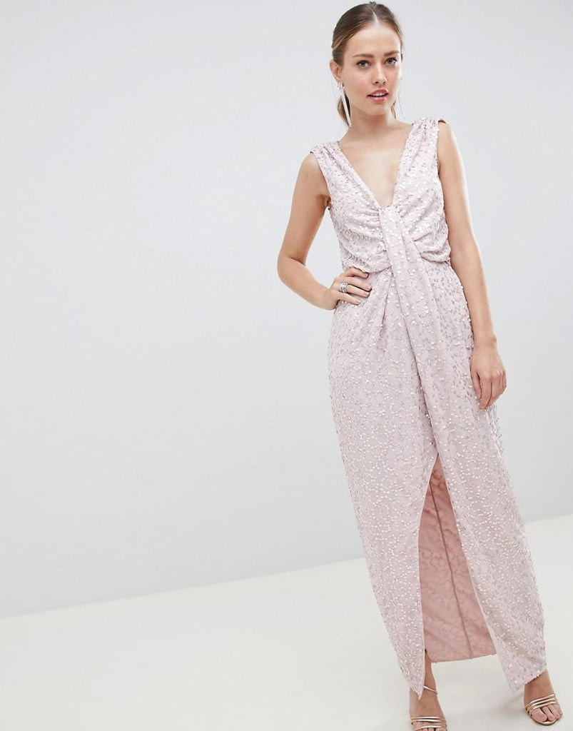 Asos Design Dress Cheap Wedding Guest Dresses Popsugar Fashion