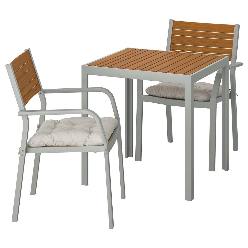 Själland Table With 2 Armchairs