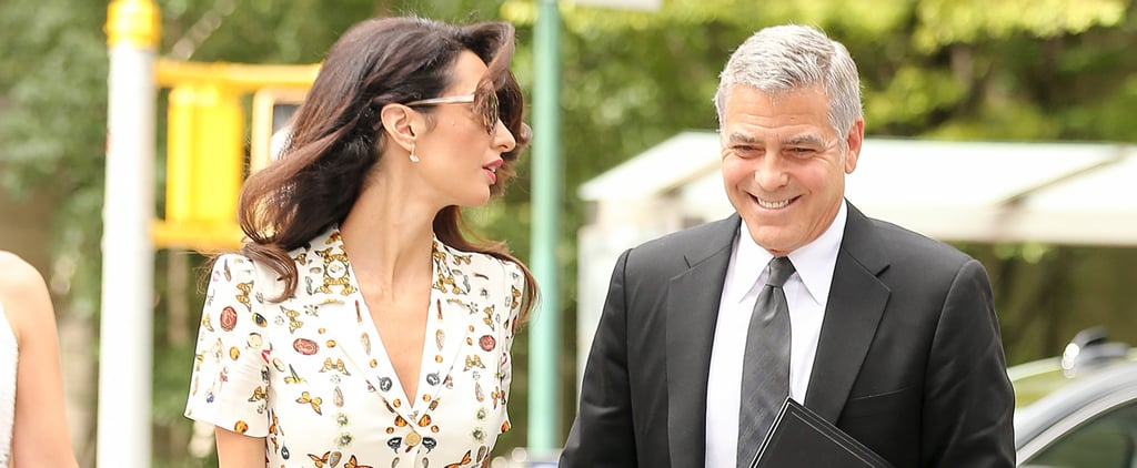 George Clooney Flashes the Biggest Smile During an NYC Stroll With Amal