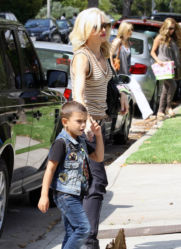 Gwen Stefani out in LA.