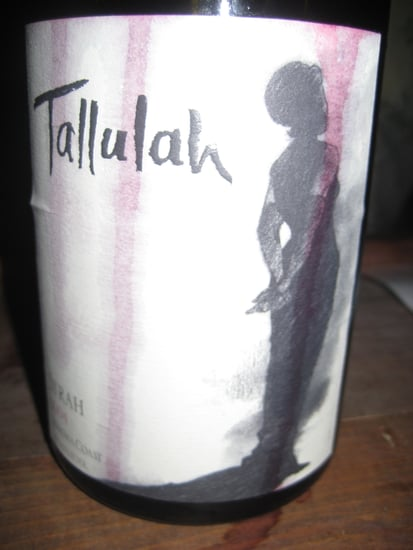 Happy Hour: Tallulah 2004 Syrah