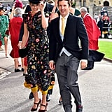 Singer James Blunt and his wife Sofia Wellesley