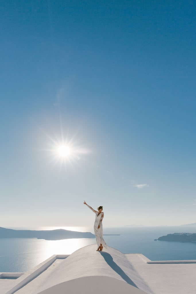 Nicole's Santorini wedding was one of photographer Theodoros Chliapas's favorite weddings of 2015.