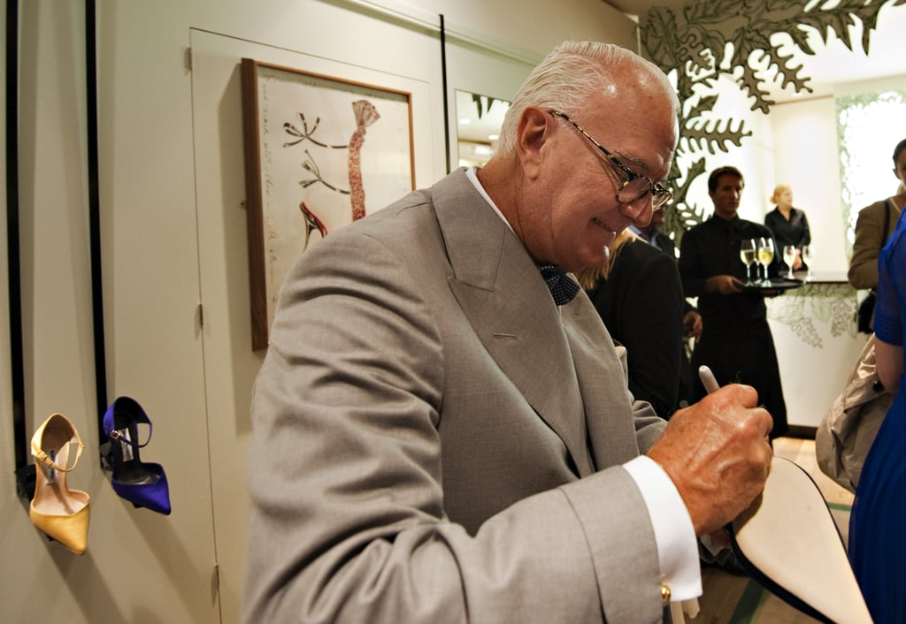 Exclusive! Few Fab Words with Manolo Blahnik